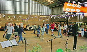 Folk on the Farm ceili